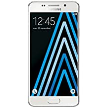 "Samsung Galaxy A3 2016 - Smartphone de 4.7"" (Wi-Fi, Bluetooth, 16 GB, cámara de 13 MP, Android) color blanco"