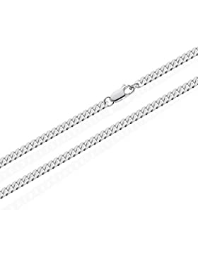 NKlaus 925 Sterling Silber Kette PANZERKETTE Königskette 3,20mm breit