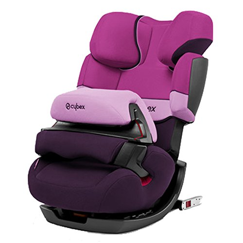 Cybex Silver Kinderautositz Pallas-fix purple rain
