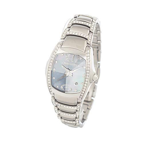 Chronotech orologio analogico quarzo donna con cinturino in acciaio inox ct7896ss-12m