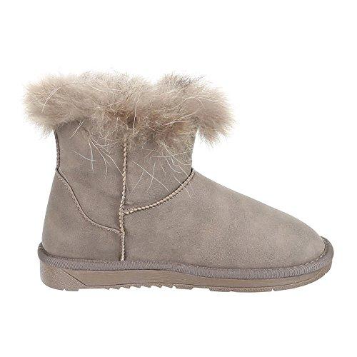 Bottines/5151 chaussures Gris - Grau Braun
