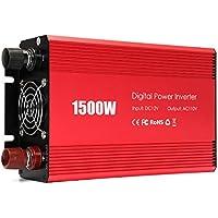 Portátil 1500 Watt Auto Power Inverter DC 12 V a AC 110 V Cambiado Sinus Converter