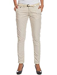 Timezone Damen Hose Alannatz Chino Pants Incl. Belt