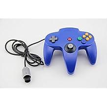 Althemax® Mango N64 Azul Largo control Game Controller Remote Pad Joystick Ajuste para 64 Sistema de Nintendo