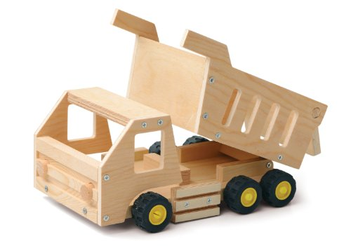 Red Tool Box Dump Truck Building Kit by Red Toolbox