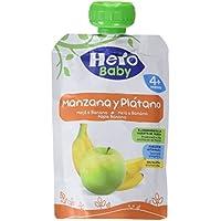 Hero Baby Bolsita Fruta Manzana Plátano - 100 gr - [Pack de 18]