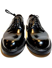 c56c8eb3de2 green george - Zapatos de Cordones de Cuero para Hombre Negro Negro