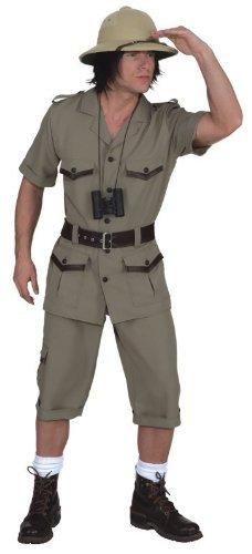 Safari Anzug Kostüm (Safarianzug Oberteil,Hose,Gürtel Kostüm ,)