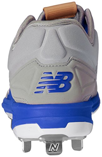 New Balance Men's L3000V3 Baseball Shoe gris/bleu