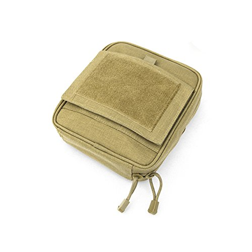 YAAGLE Militärisch tragbar Taschen EDC Kuriertasche Umhängetasche klein Schultertasche multifunktional Aktentasche Duty Bag outdoor Khaki