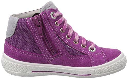 Superfit TENSY SURROUND Mädchen Hohe Sneakers Violett (DAHLIA KOMBI 74)