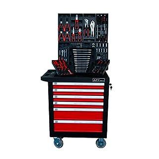 Werkzeugwagen ATI-Tools befüllt mit 302-teiligen Werkzeug