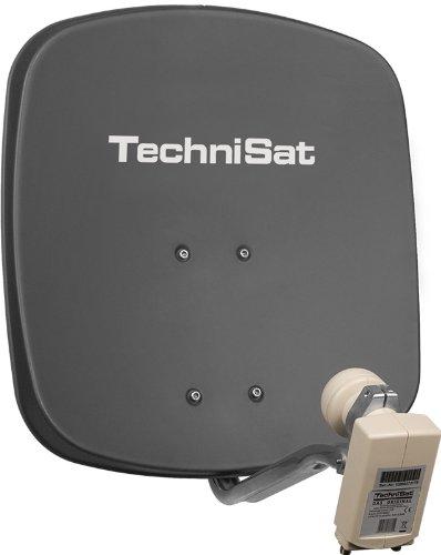TechniSat DIGIDISH 45 Sat-Anlage mit Wandhalterung und Universal-Twin-LNB (2 Teilnehmer, Sat-Schüssel, 45 cm Spiegel, Aluminium) Test