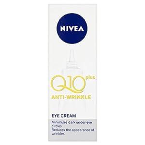 3 x NIVEA VISAGE® Q10 Plus Crema antiarrugas para ojos 15 ml