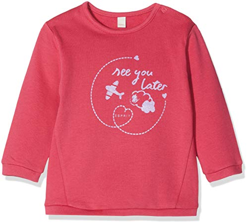 ESPRIT KIDS Mädchen Sweatshirt RM1501109, Rosa (Fuchsia 356), 92