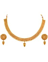 910ca8d08bf82 JFL - Traditional Ethnic Fusion One Gram Gold Plated Pearls Designer ...