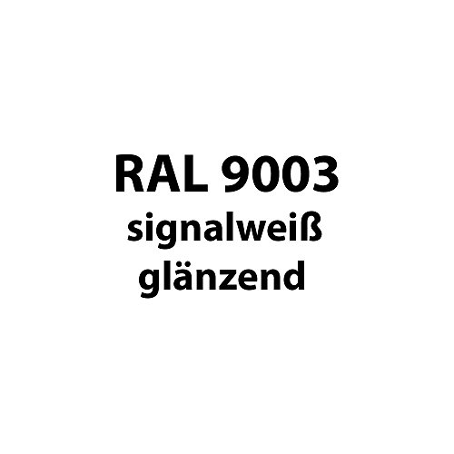 Preisvergleich Produktbild Tupflack 50 ml * viele verschiedene Farben * (RAL 9003 signal-weiß glänzend)