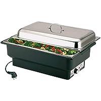 APS Electric Chafing Dish, 57 x 35 x 28 cm récipient pour aliments, cuvette à eau électrique avec contrôle de la…
