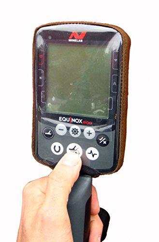 DetectorCovers MINELAB Equinox Detector DE Metal DE LA Cubierta DE LA Caja DE Control Parte Posterior...