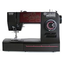 Toyota SUPERJ26 Allround - Máquina de coser (brazo libre, 26 programas y utilidad para vaqueros)