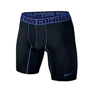 Nike Core Compression 2.0Herren Shorts mit Schrittnaht-Länge 15,24 cm, Herren, Black/Game Royal, Größe S
