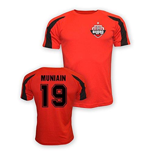 UKSoccershop Iker Muniain Athletic Bilbao Sports Training Jersey (red) 6fef4ef920a3c