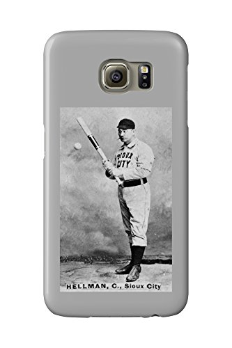 sioux-city-minor-league-tony-hellman-baseball-card-galaxy-s6-cell-phone-case-slim-barely-there