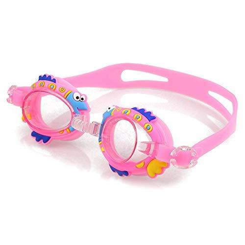 FOONEE Kinder-Schwimmbrille, kein Auslaufen, Anti-Beschlag-Schwimmbrille für Kinder und Jugendliche mit weichem Silikon-Rahmen, verstellbare, Wasserdichte Taucherbrille für Jungen und Mädchen D