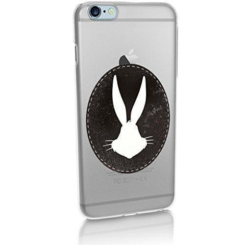Hardcase Looney Tunes Bugs Bunny Série 2 - LOONEY TUNES bleu, Iphone 7 Bugs (Bogues) Silhouette transparent