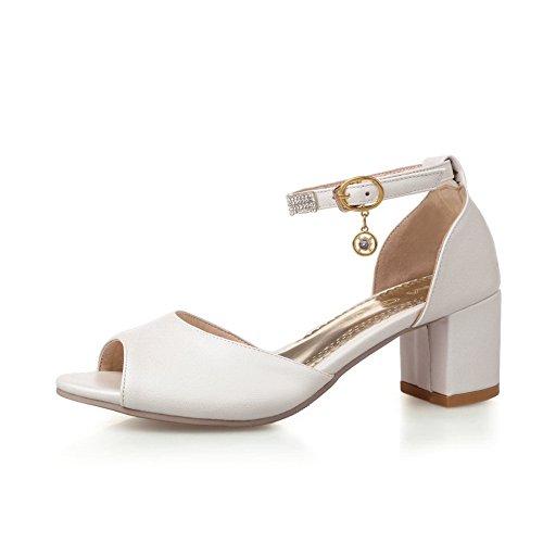 1to9, Sandales Femme Blanc