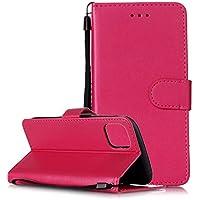 Lomogo Funda Cartera iPhone 11 Pro, Funda de Cuero con Tapa Ranuras Tarjetas Soporte Plegable Antigolpes Carcasa Case para Apple iPhone 11 Pro 2019 - LOYHU250811 L1