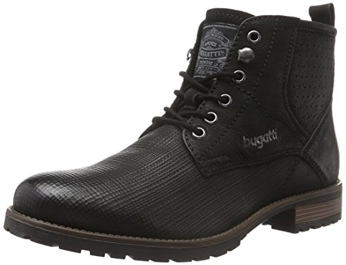 bugatti-f13365g-stivali-desert-boots-uomo-nero-schwarz-100schwarz-100-43-eu