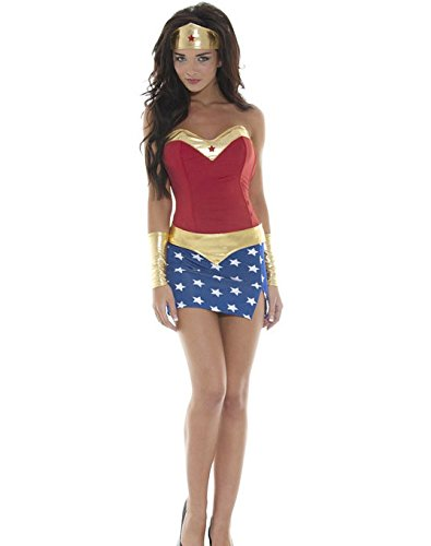 Gorgeous Spiel Uniformen Halloween-Party -Kostüm Superman Wonder Woman Kostüm Rollenspiel- Uniformversuchung