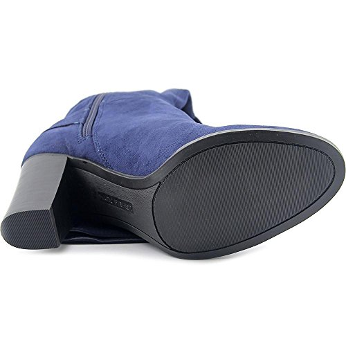 Marc Fisher Christyna Toile Botte Dark Blue