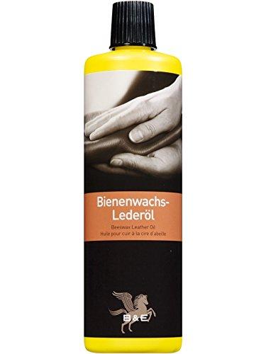 B & E Bienenwachs-Lederpflegeöl - 500 ml