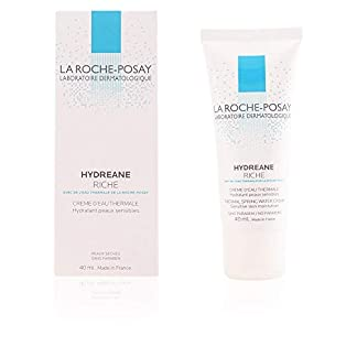 La Roche Posay 897-10772 Hydreane Rich – Crema hidratante para piel sensible,  40ml
