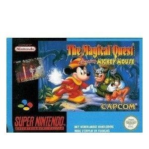 The Magical Quest Starring Mickey Mouse (SNES) Mickeys Handy