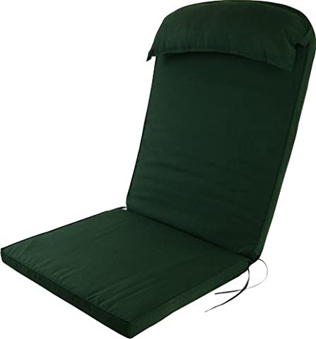 Plant Theatre Adirondack Chair Luxury High Back Cushion with Head