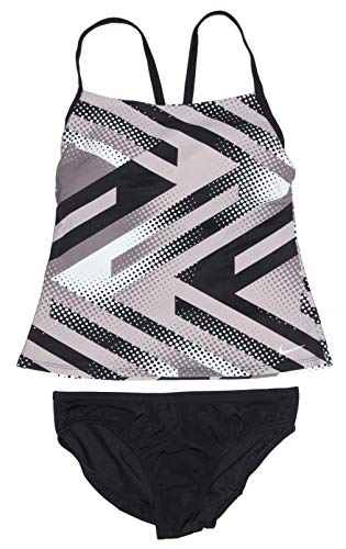 Nike Women's Tankini Athletic Two-Piece Swimsuit (Nike Tankini Womens)