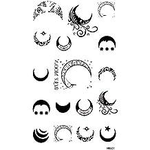 Amazones Tatuaje De Luna Y Estrellas