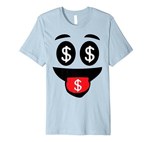 Halloween Emoji-passende Kostüm Tshirt Geld Face