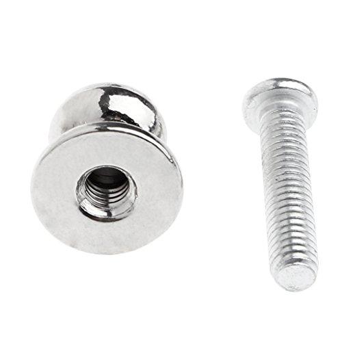 Cuigu Schubladengriffe,10 Stück Schmuck Box Geschenk Fall Metall Pull Handle Knobs Silberton 12mmx11mm