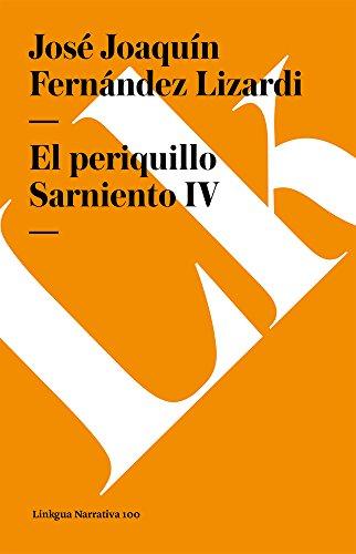 El Periquillo Sarniento IV Cover Image