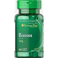 Puritan's Pride Boron 3mg (100 Tabletten) preisvergleich bei billige-tabletten.eu