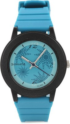 Sonata Analog Blue Dial Women's Watch - NF8992PP01J