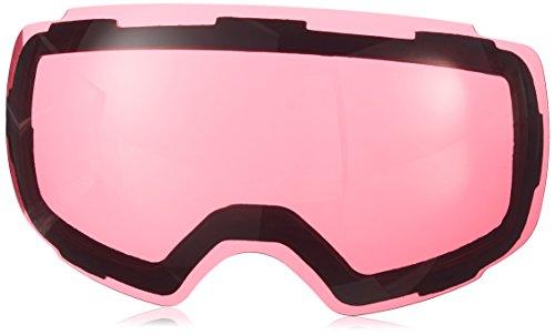 Zionor lagopus x4 snowmobile snowboard skate occhiali da sci con il 100% di protezione uv400 magnet obiettivo veloce cambiamento sferica senza telaio occhiali da sci