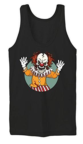 Evil Clown Tanktop Girls Black Certified (Kostüme Bösewichte Top)