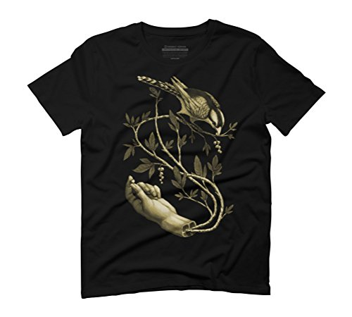 Rash & Rations Men's Graphic T-Shirt - Design By Humans Black