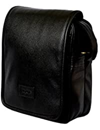 """10"""" Stylish Faux Leather I-Pad Sleeve Messenger Office Sling Bag With Shoulder Strap By-Widnes - B076XDY9S5"""