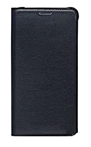 Cell-loid Premium Artificial leather Flip Cover for Oneplus 3 - Black